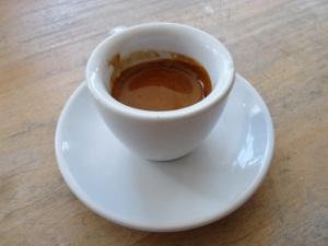 Espresso Look mum no hands!